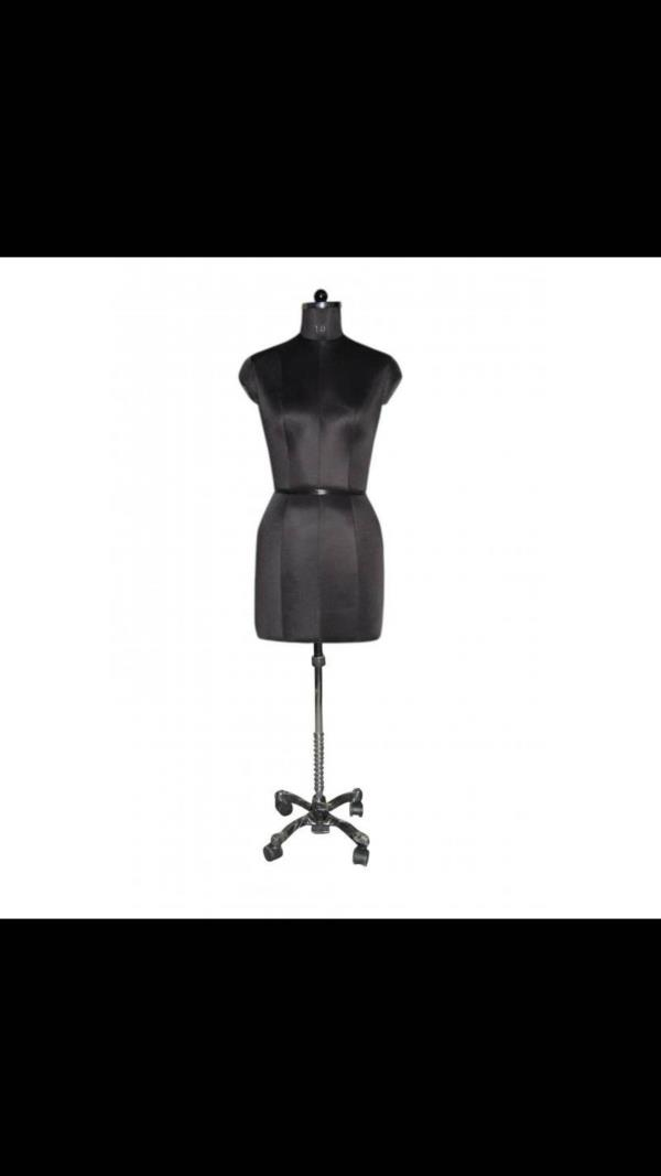 Measurement dummy Black manniquine Ladies manniquine black - by Hi Tech Hangers & Fixtures, Delhi