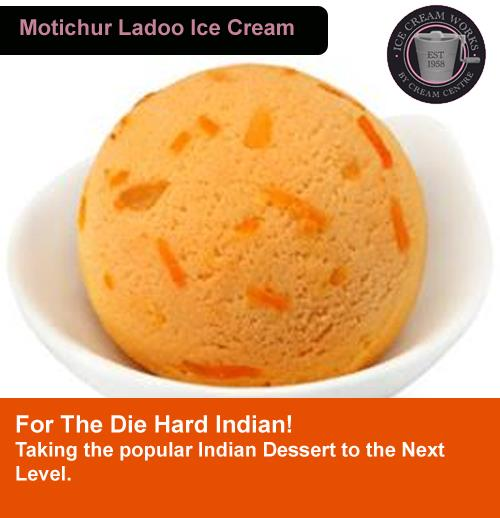 Wonderfully Wonderfull Motichoor Ladoo Ice Cream, a must eat !!!!!!!!  Great Desert to end your Dinner at CAKES & CREAMS   BAKERY / CHINESE / ICE CREAM / CAFE  Can you resist hte most popular INDIAN SWEET Motichoor LADOO in Ice Cream Form , - by Cakes & Creams, Visakhapatnam
