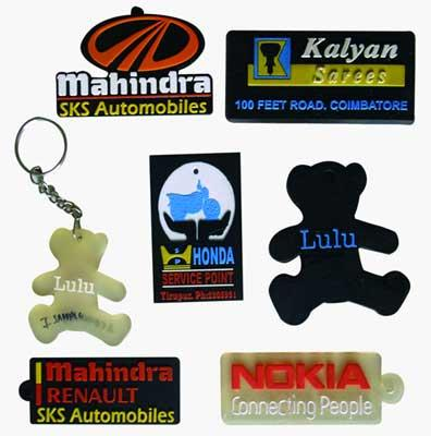 We have introduced an assorted range of Key Chains, designed specifically by our team of professional designers. These key chains are of latest designs and trends preferred by the customers. Made from superior quality raw material, our exce - by Preetha Enterprises, Coimbatore