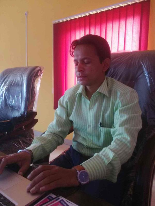 principal of the college - by Sunsoft Degree College, Bidar