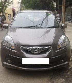 HONDA BRIO 1.2 V MT:MODEL 04/2012, KM 25938, COLOUR URBAN TITANIUM, FUEL PETROL, PRICE 4, 80, 000 NEG. - by Nani Used Cars, Hyderabad