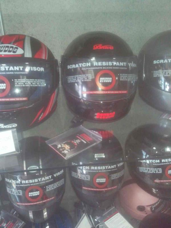 We have all ranges of Studds helmets in discounted offer. - by Helmet Riders Shop, Ahmedabad