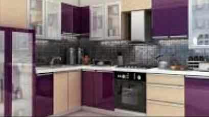 stainless steel modular kitchens stainless steel wardrobes designer vanities - by Dezire Interiors, Delhi