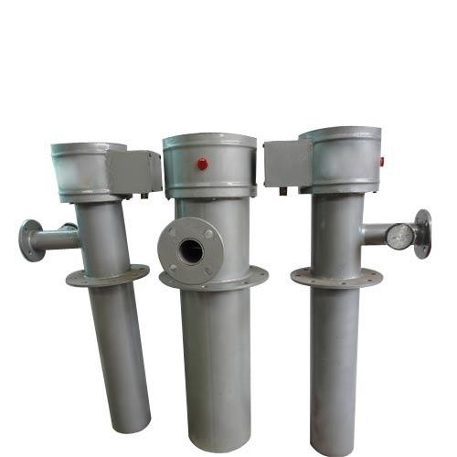 OUT FLOW OIL HEATER  1. These heater are for heating furnace oil .  2.It can be installed in oil service tank or oil storage tank.  3.It has indirect heating with temperature indicator and thermostat for temperature control.   4.Heating ele - by National Furnaces, New Delhi
