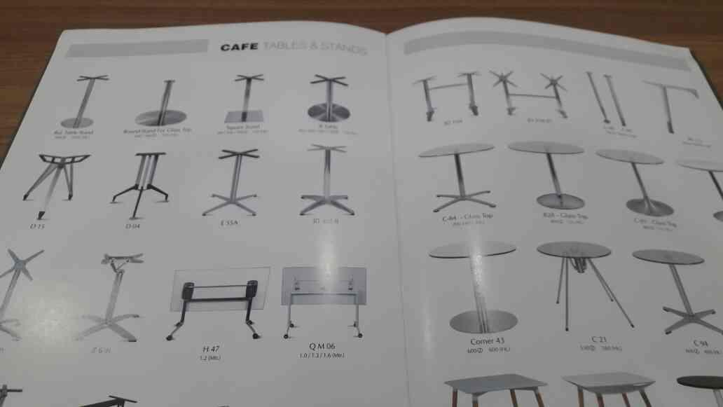 All type of Cafe tables and stands manufacturer in ahmedabad - by Navkar Impex, Ahmedabad