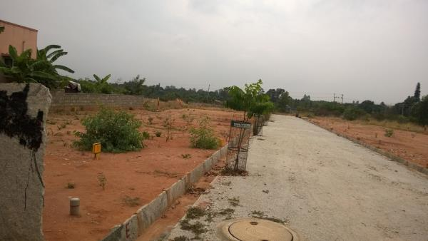 There are 10 sites of size 30/40 available for sale near Purva Palm Project.It has good connectivity to all major roads.It has DC conversion, Loan available in South Indian Bank.Just 3 Kms from Hennur Main road, - by Watershed properties, Bangalore