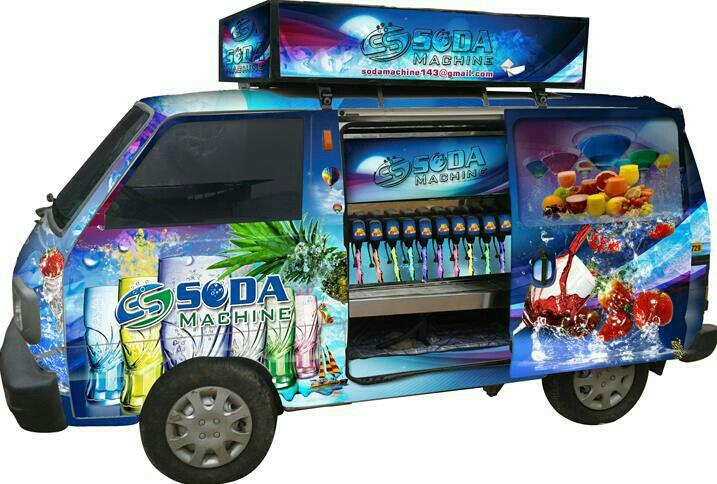 Mobile soda vans by super soda machine in vadodara - by Super Soda Machine, Vadodara