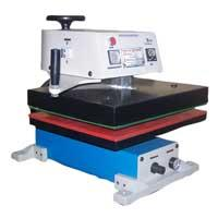 Auto Fusing (M1001)  Prakalya Industries manufactures outstanding performing Fusing Machines, fabricated in complete adherence to the requirements of the garment manufacturing industry. The operator friendly swing design of our extensive ra - by Preetha Enterprises, Coimbatore