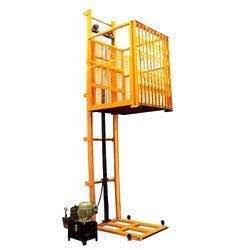 We KY Industries deal in manufacturing of hydraulic goods lift, Scissor lifts, stackers & all kind of material handling equipment  - by KY Industries, Ahmedabad