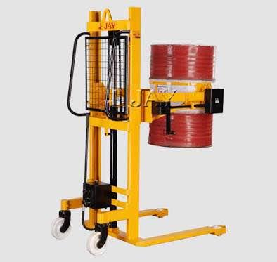 We are manufacture of hydraulic drum lifter - by KY Industries, Ahmedabad