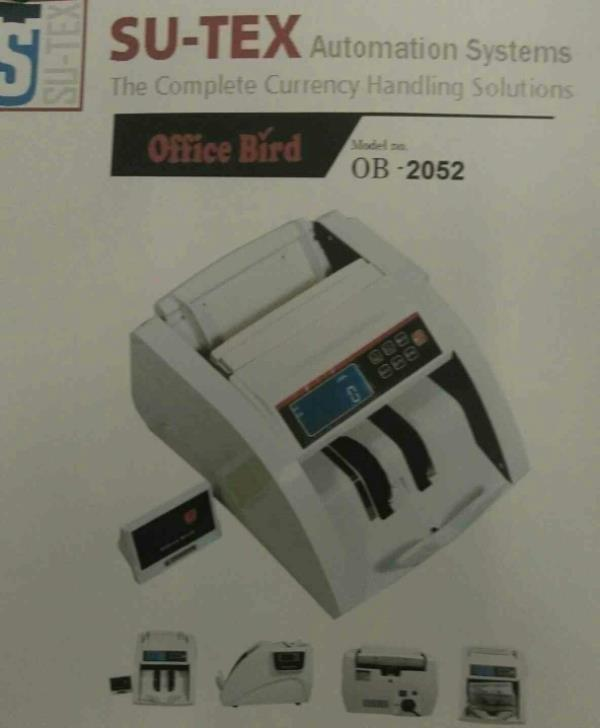 Best currency counting machine in Ahmedabad - by Sutex automation Systems, Ahmedabad