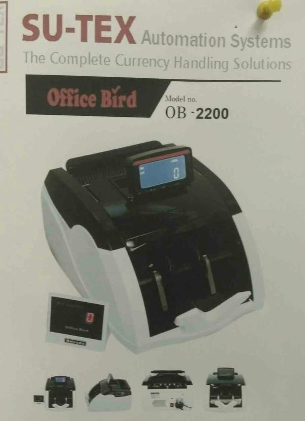 we are leading supplier of currency counting machine in surat  - by Sutex automation Systems, Ahmedabad
