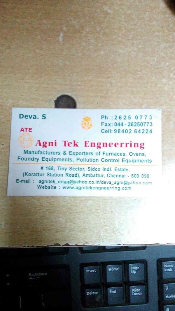 gas carburizing furnace Manufacturers in Chennai  - by Agni Tek Engineering, Chennai