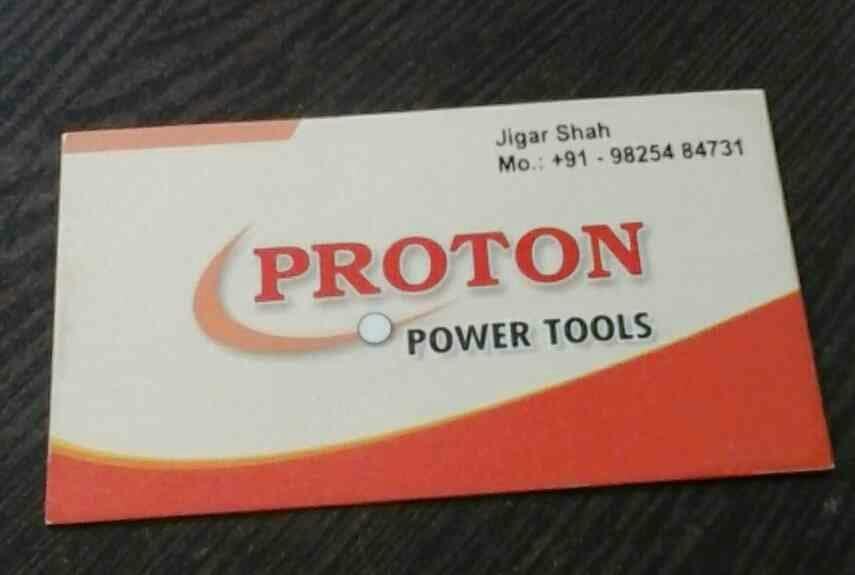 proton power tools is manufacturer of drill, cutoff machine, grinder, sander  - by Proton Power Tools, Ahmedabad