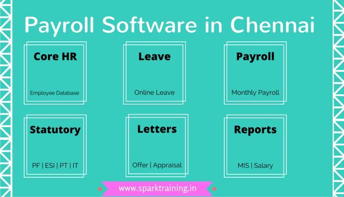 Payroll Software in Chennai   Online Payroll Processing in Chennai - by Spark Training Academy, Chennai