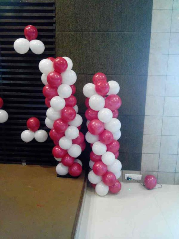 ring ceremony Baloon theme  - by Shilby Entertainment & Grooming Academy, Ahmedabad