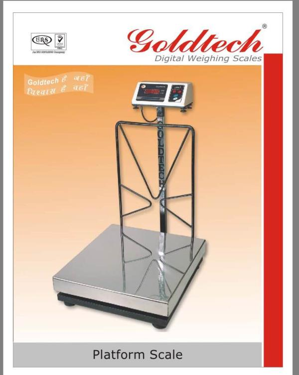Heavy Duty scale available from 100kg to 500kg. Delivery available in Delhi n NCR. - by Ideal Marketing Co., North West Delhi