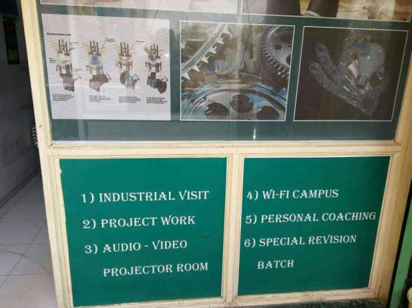 Industrial Visit Project work Audio-Video Projector Room Wi-Fi campus  Personal Coaching Special revision batch  Manjalpur, Vadodara. - by BK's Engg. Classes, Vadodara