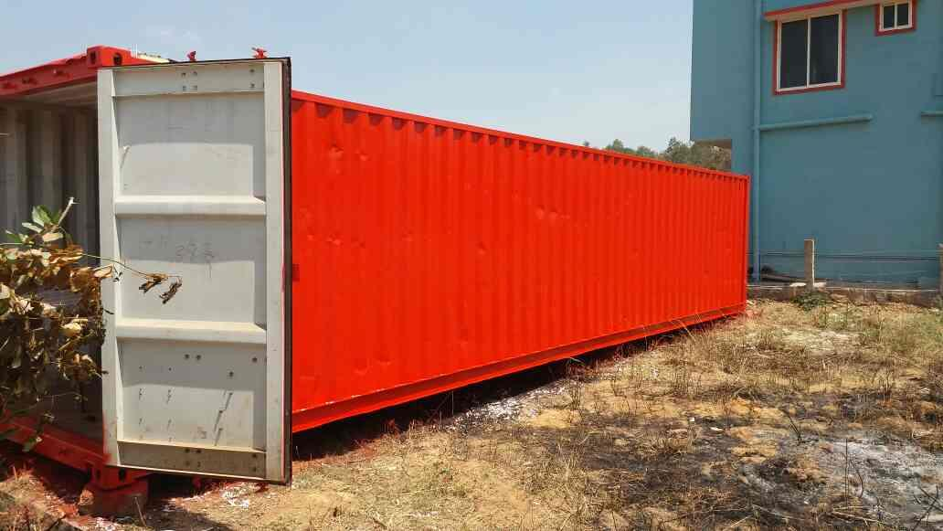 Used Cargo container  - by Mapc, Bangalore