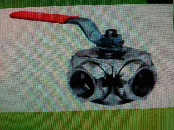 We provide a premium quality three way ball valve screwed.  - by  Jay Tech, Ahmedabad