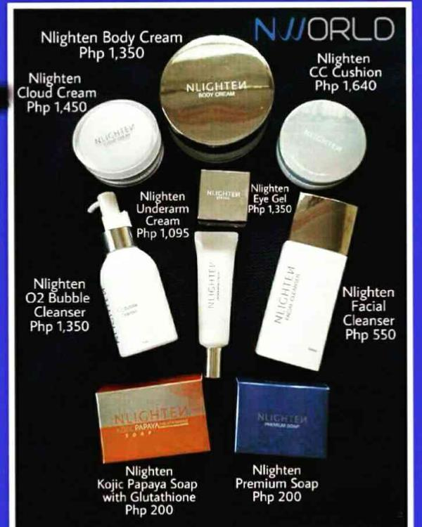 May problema ka ba tulad ng: •pimples/pimple marks •white heads/black heads •dry skin/oily skin •dark underarm/knees/elbow •eye bags/dark circles •uneven skin tone •freckles/pimple marks/dark spots Wag na mag alala dahil andito na ang sagot - by Nworld Nlighten, mabalacat