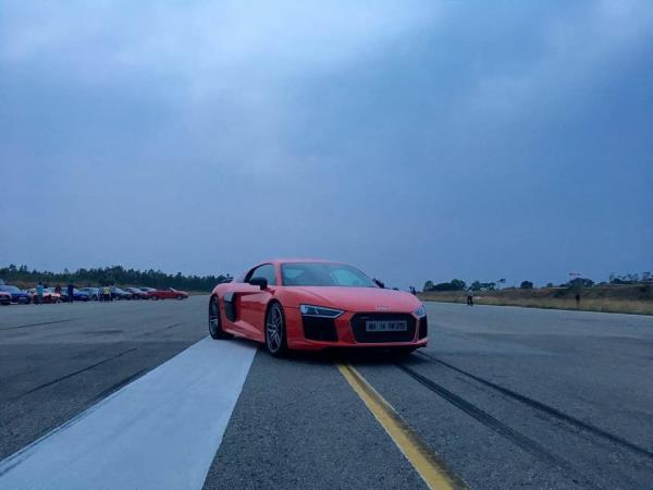New Audi R8 V10 plus What you get: 610 HP and a roar that's capable of waking up the entire neighbourhood. #FastestAudi #LeagueofPerformance - by R V AUTOMOBILES, Vadodara
