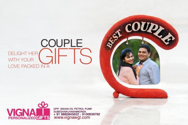 Couple gifts - by VIGNA PHOTOGRAPHY & PERSONALIZED GIFTS, Warangal,hanamkonda,Hyderabad