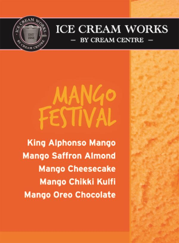 Visit us to taste our 5 fantastic  SPECIAL MANGO FLAVORS during the MANGO FESTIVAL - by Cakes & Creams, Visakhapatnam