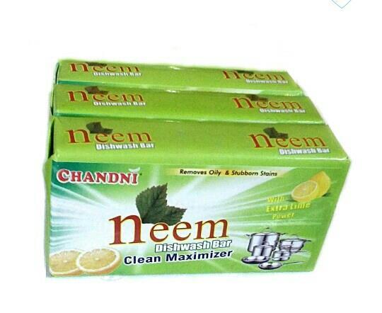 Buy Neem Dishwash Bar 200gm (3 unit) only in Rs. 40 - by Ubucks.in, Jaipur