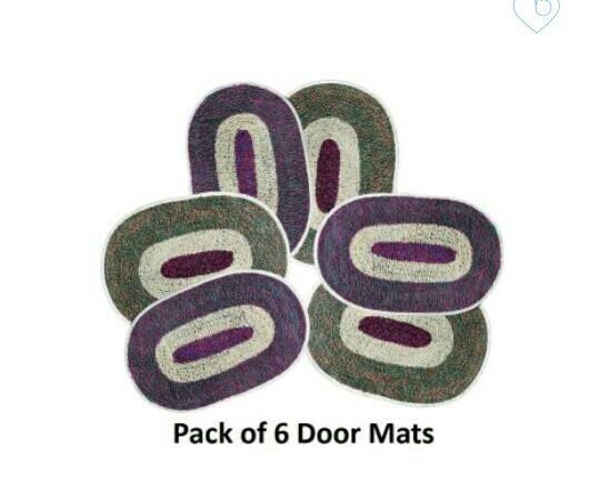 Set of 6 Door mats only in Rs. 99 - by Ubucks.in, Jaipur