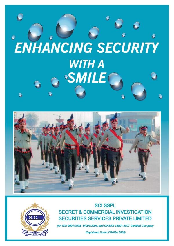 We are providing security services since Nov 2006 and currently working in Himachal Pradesh, Uttar Pradesh, Uttarakhand, Jharkhand, Gujarat, & Rajasthan - by Scisecuritiesservicespvtltd, Vadodara