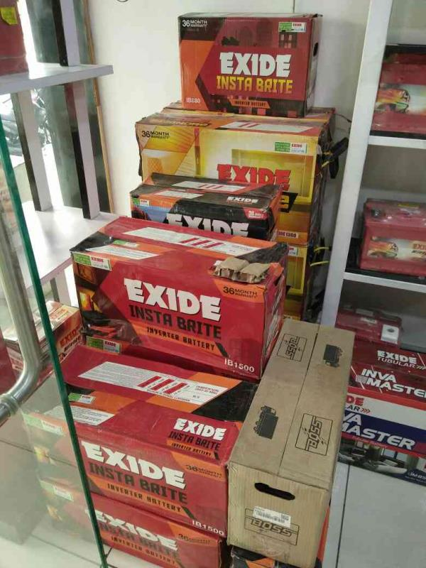 exide battry - by Shreeji Battary, Bhopal