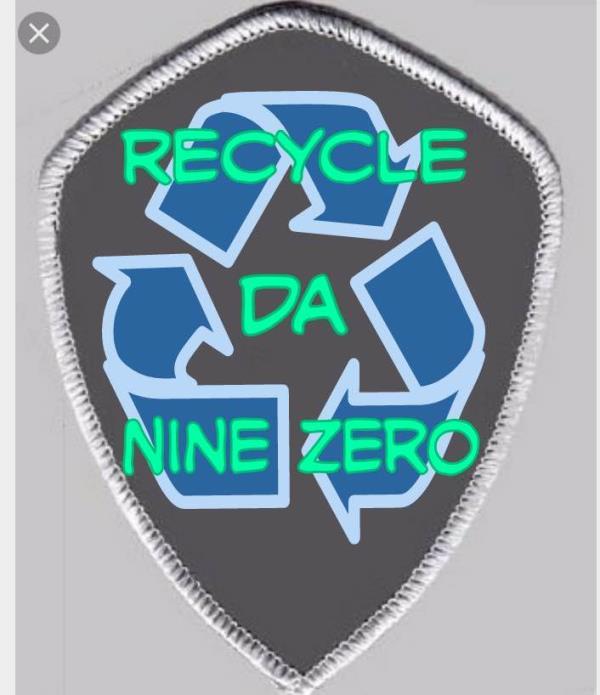 New Recycle Da Nine Zero Patch  #PatchItUp #The90'sClub  - by THĒ90'sCŁUB, New York County