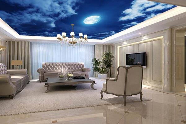 3D wallpaper for ceiling.  - by Sun Enterprise, Vadodara