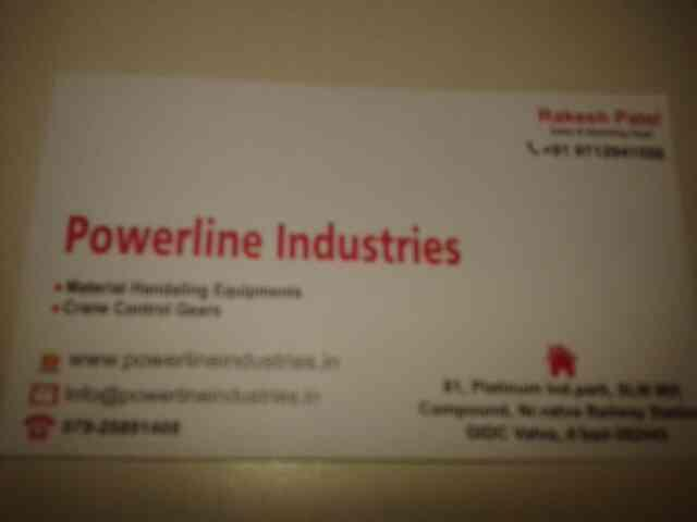 we aew manufacture of crane and matwrial hendling equipments in ahmedabad. - by Powerline, Ahmedabad