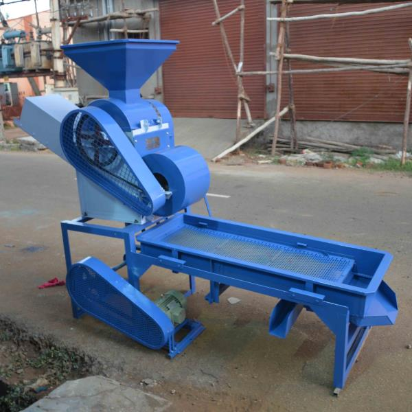 Manufacturers of Groundnut Processing Machines  200 kg/h Groundnut Decorticator cum Grader which runs on 2HP electric Motor.  For more info: http://www.perfuratech.com/other-machines.html - by Perfura Technologies Pvt Ltd, Coimbatore