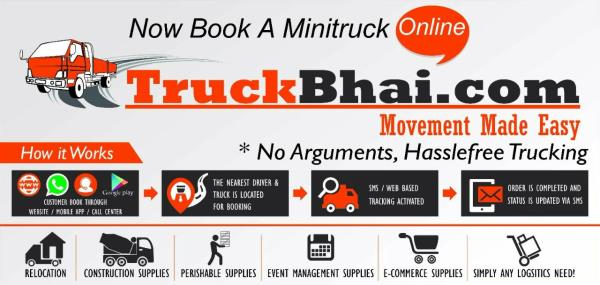 Want to move goods in Ahmedabad.....Truckbhai.com is the solution.....Assured and Safe delivery.....Online Tracking available.... - by Truckbhai.com, Ahmedabad