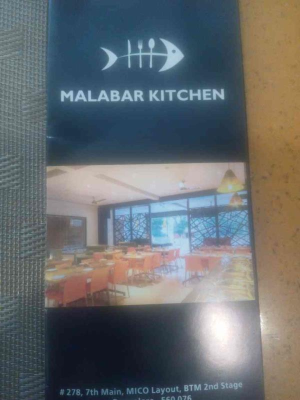 Restaurant lodging and boarding conventional hall catering services - by Malabar Kitchen, Bangalore