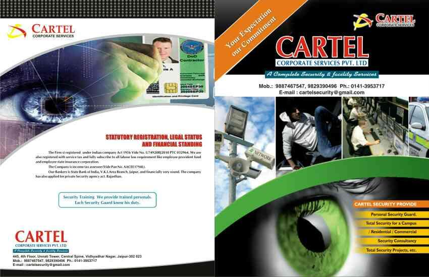 Cartel security Means Best security services , Best security Guards  - by cartel Corporate Services, Jaipur