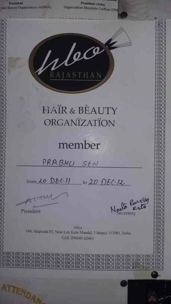 Member of Hair & Beauty Organization - by Shree Mast Beauty parlour, bikaner