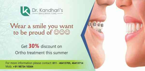 This summer...get yourself the smile you have been waiting for!!! - by Dr Kandhari's Skin & Dental Clinic, New Delhi