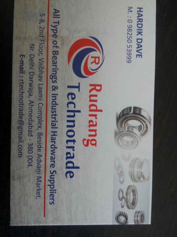 we are leading supplier for all type of  barring in Ahmedabad in Gujarat - by Rudrang Technotrade, Ahmedabad