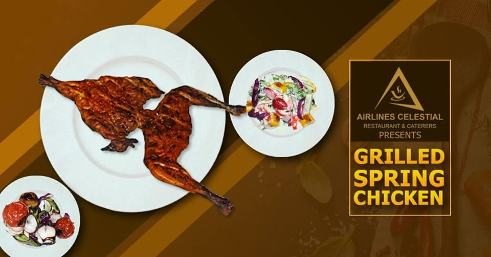 GRILLED SPRING CHICKEN - by Hotel Airlines, Malappuram