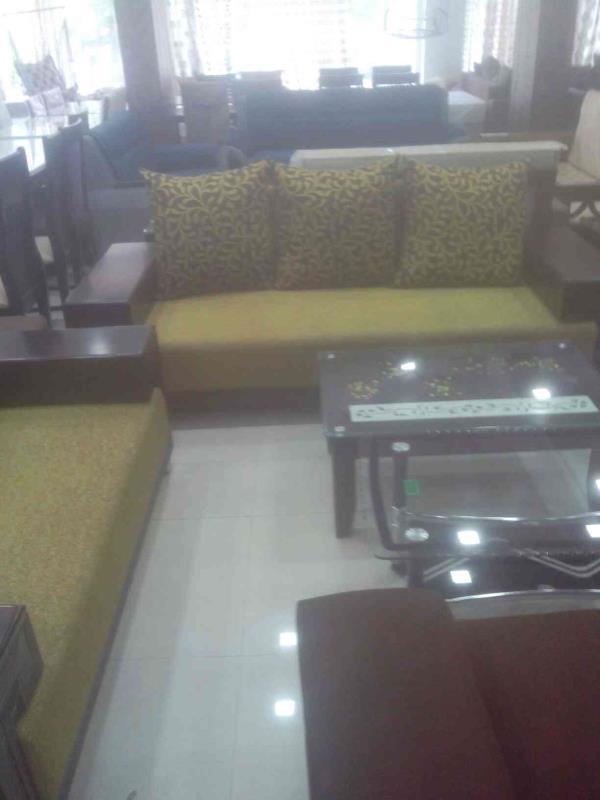 We can provide you all kinds of sofa set. - by Gruhshobha Furniture, Ahmedabd
