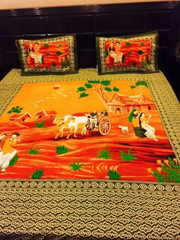 introducing traditional style of cotton bed sheets in Jaipur - by Gaurav Prints, Jaipur