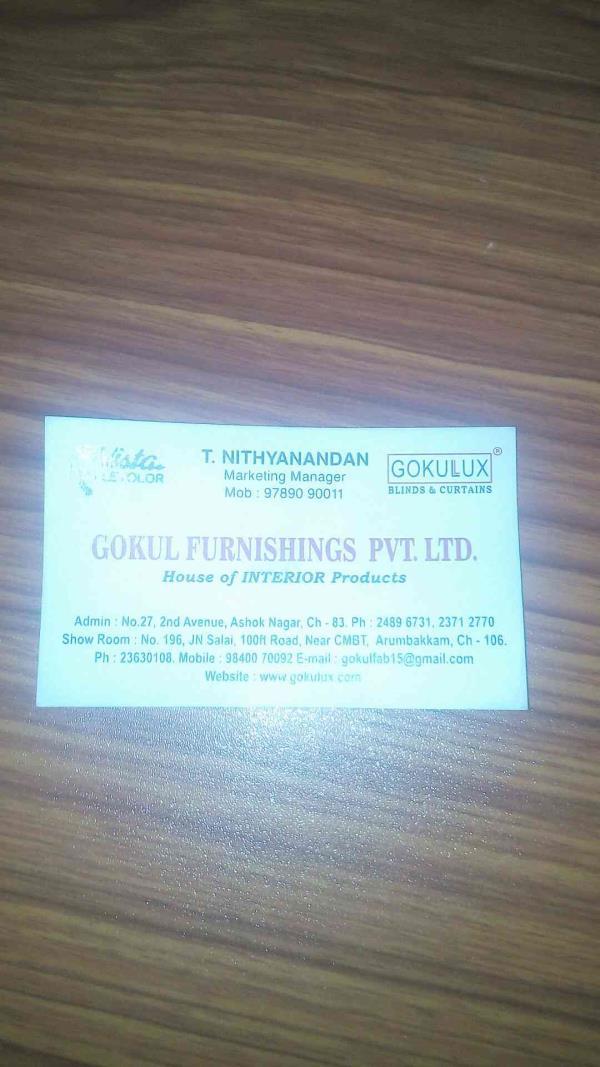 no1 window screen manufacturers in chennai - by Gokul Furnishing Pvt Ltd, Chennai