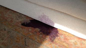 """Austin is the center for """"the Art"""" ...of Color Restoration and Stain Removal for Texas Rugs. Stains are inevitable... and Cleaning, WILL SET STAINS on carpets, upholstery and rugs... """"You should have your stains removed by a Stain Specialis - by Stainwizards, Chicago"""