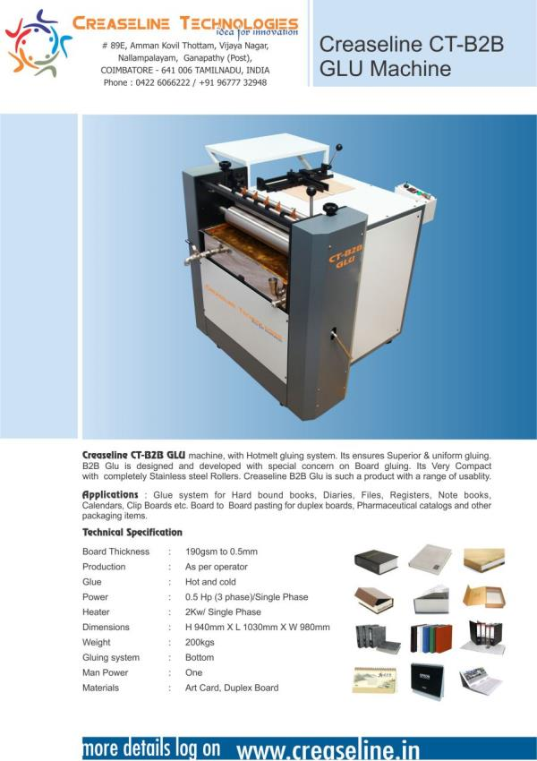 Board to Board Pasting  Machine Supplier In Coimbatore  Low Cost Board to Board Pasting Machine In Coimbatore  Board to Board Pasting Machine Supplier In Coimbatore  Board to Board Pasting Machine Manufacturing In Coimbatore  Quality Board  - by Creaseline Technologies, Coimbatore