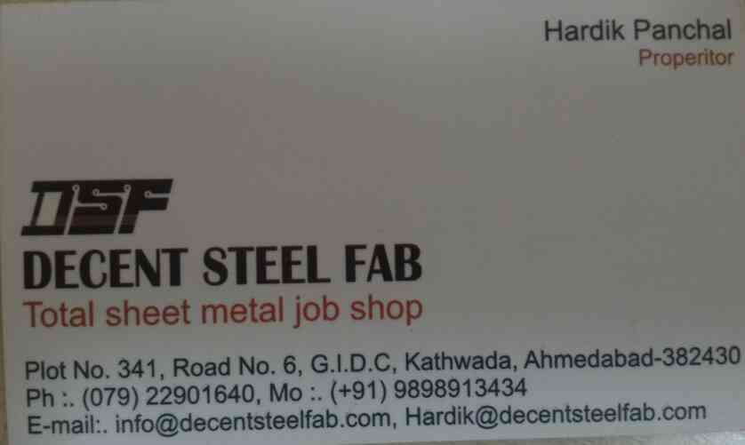 We have another firm which has wide range of products and providing total sheet metal job works in India - by Jekson Machinery Pvt Ltd , Ahmedabad