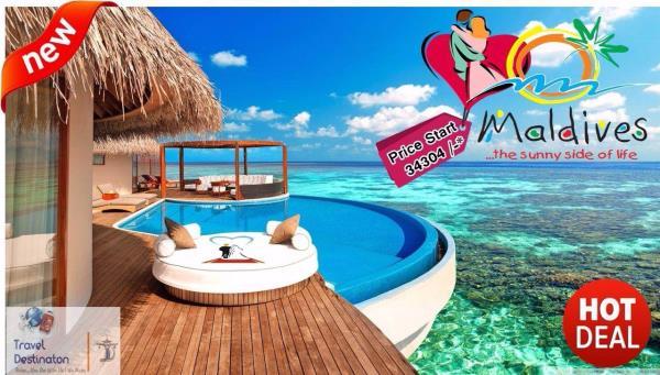 Get urself ready⛵️🛥 Let's go explored the underwater world 🐠🐟🐡🐬🐳🐸🐌🐚 Maldives with@traveldestinaton✈️🍾 🌍world is wild🌍 Go spend it wise with ur ❤️Loveone😊  For more Details  🌐info@traveldestinaton.com 📱+918225033331 📞      07 - by Travel Destinaton, Indore